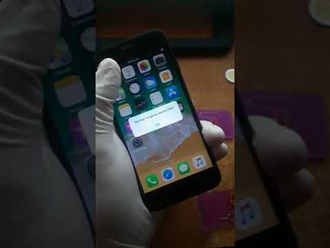 Como activar iPhone utilizando R sim 12 4G Unlock estable iOS 11.2