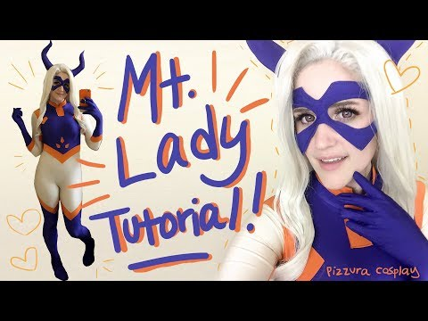♥✽♥ ✽MT LADY ♥✽♥ ✽♥(Cosplay Sewing Tutorial)
