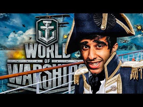 CHOPPY SEAS! - World Of Warships with Vikk, Josh & Tobi
