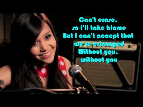 |Without You| Megan Nicole(cover) w lyrics