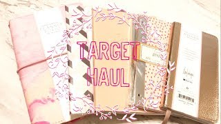 Target Haul: May Design Target Travelers Notebook, Inserts, Dollar Spot