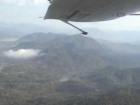 Flying to Xieng Khuang