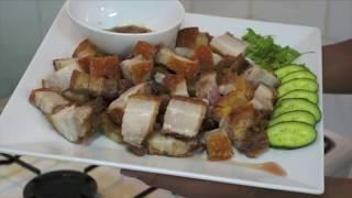 Crispy Pork Lechon Kawali Recipe pinoy Philippines Filipino 