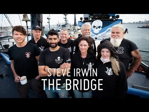 Meet the Crew - Captain Siddharth Chakravarty & The Steve Irwin Bridge