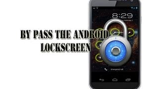 How to bypass any Android Pattern Lockscreen without root! (Solution)