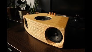 DIY 2.1 Bluetooth speaker Visaton F8SC + KT100V sub + TPA3116