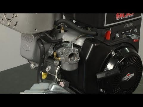 Carburetor Replacement (part #798650) - Briggs and Stratton Small Engine Repair