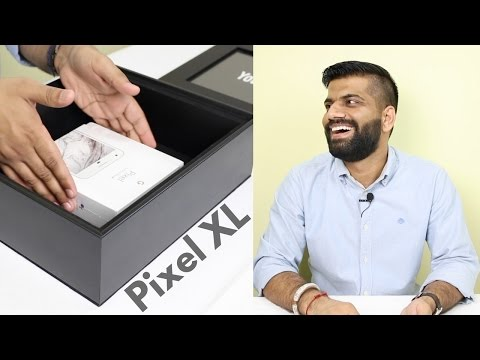 Phone in a BIG BLACK Box??? Google Pixel XL Unboxing and Hands on... thumbnail