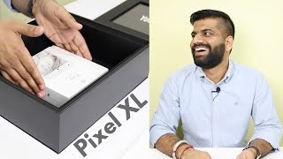 Phone in a BIG BLACK Box??? Google Pixel XL Unboxing and Hands on...