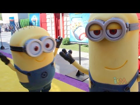 Minion Madness at Despicable Me Minion Mayhem grand opening, Universal Studios Hollywood