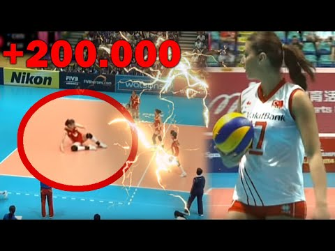 Neslihan DEMIR | Jump Serve-Show (6 Aces) Against China