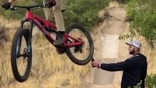 Video viral de la bicicleta en facebook.. completo.