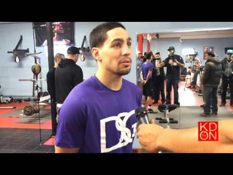 Danny Garcia:Speaks on Mayweather-Maidana fight (KDON TV)