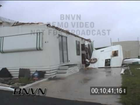 Hurricane Frances Video, Fort Pierce, FL and Hutchinson Island, FL Part 13