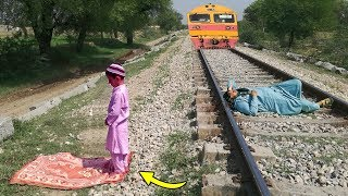 Bacha aur Namaz || Train aur Admi || kids vs Train ||