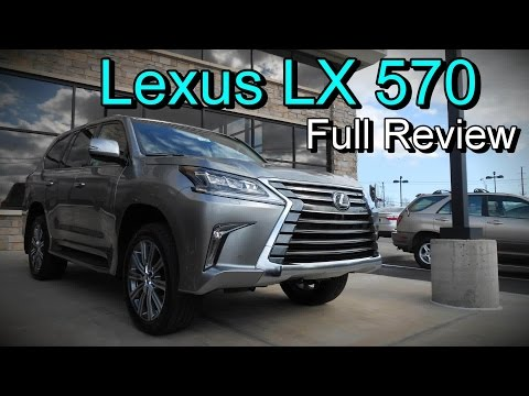 2016 Lexus LX 570 4WD: Full Review