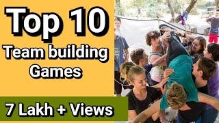 Top 10 Team Building Activities | Team Building Games | Girish Sharma +91-9769964451