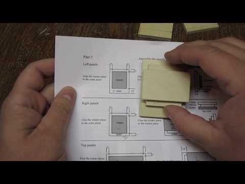 Japanese Puzzle Boxes Plans