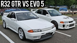 RACE OF THE JDM LEGENDS - R32 GTR Vs. Evo 5
