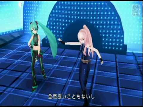 Hatsune Miku x Megurine Luka - World's End Dancehall (Project Diva 2nd)