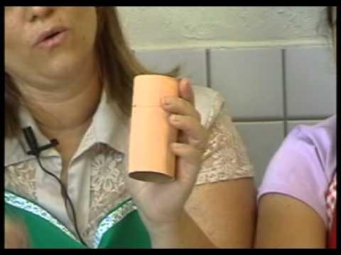 Arte do Saevinho - Boneco de rolo de papel higiênico -- Reciclildo e Reciclaúd