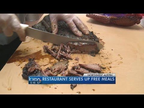 Austin restaurant serves free Christmas meals
