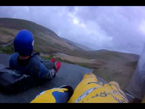 Streetluging Across Europe in 2011. With Luge Drifting!!!