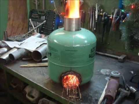Печь длительного горения на дровах своими руками