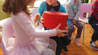 """PASS THE BOX"" BEST FUN GAME FOR LITTLE KIDS"