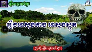រឿងព្រេងខ្មែរ-រឿងអាសុខកាចអាសុខស្លូត|Khmer Legend-The Angry boy and The pity boy