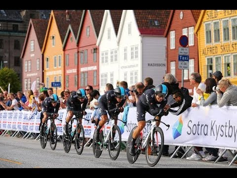 Велоспорт. Чемпионат Мира 2017. Командная гонка на время. Мужчины.