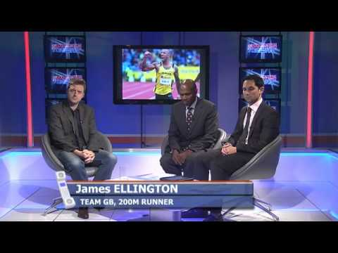 James Ellington - Team GB track and field Olympic hopes