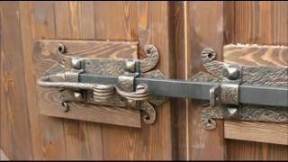 Засовы на двери своими руками
