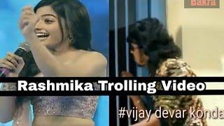 Rashimka mandanna trolling Kannada video...
