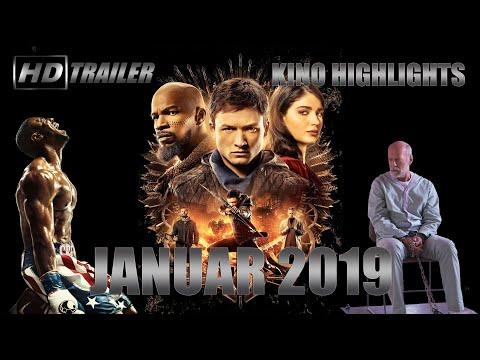 Neue Kino Highlights im Januar 2019  HD Trailer alle Neuen Kino Filme 1.2019