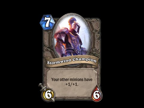 Stormwind Champion - Hearthstone Text   Message   Alert Tones (links In Description) video