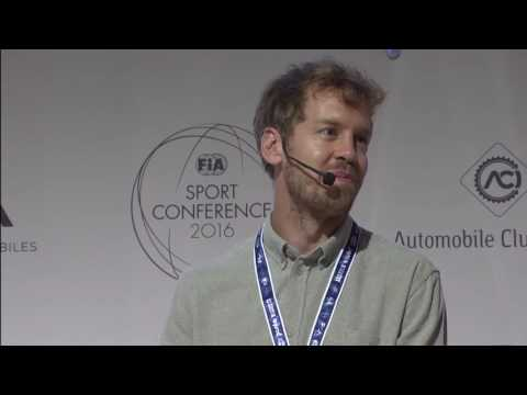 2016 FIA Sport Conference -  Sebastian Vettel Interview