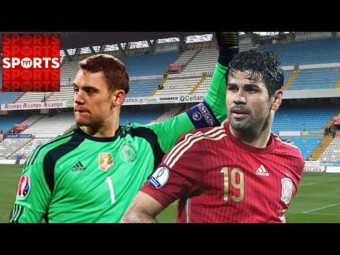 Spain vs. Germany [FABREGAS RULED OUT]