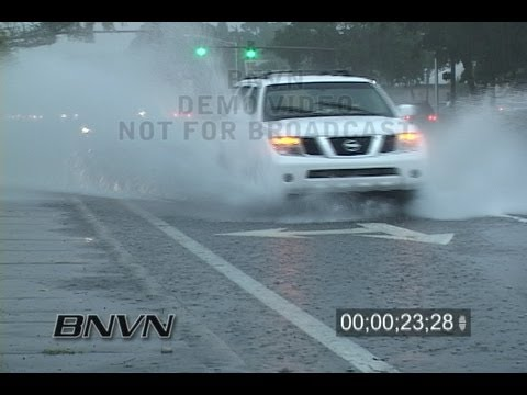 10/25/2007 Heavy rain in Sarasota, FL video
