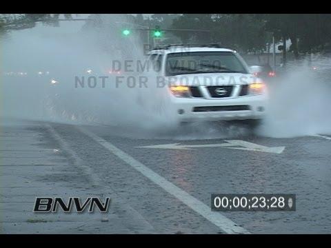 10/25/2007 Heavy rain in Sarasota, FL video