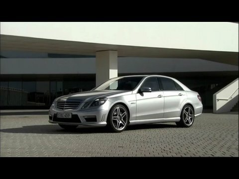 2010 Mercedes E 63 AMG Power Footage