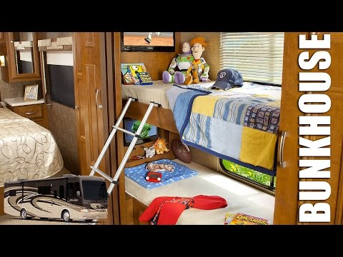 2013 Diesel Motorhomes with Bunk Beds (Bunk House Diesel Pushers) Small Diesel Class A RV
