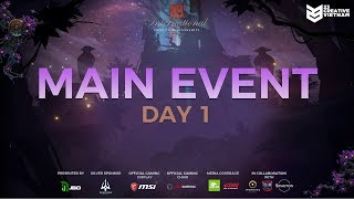 The International 9 Main Event Day 1 Alliance vs RNG 23 Creative VN