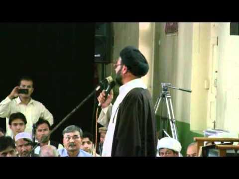 H I Syed Hashim Musavi At Soyum Shohada Eid-ul-Fitr Quetta.flv