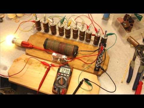 12V Crystal Cell Update + Alternative Construction Method