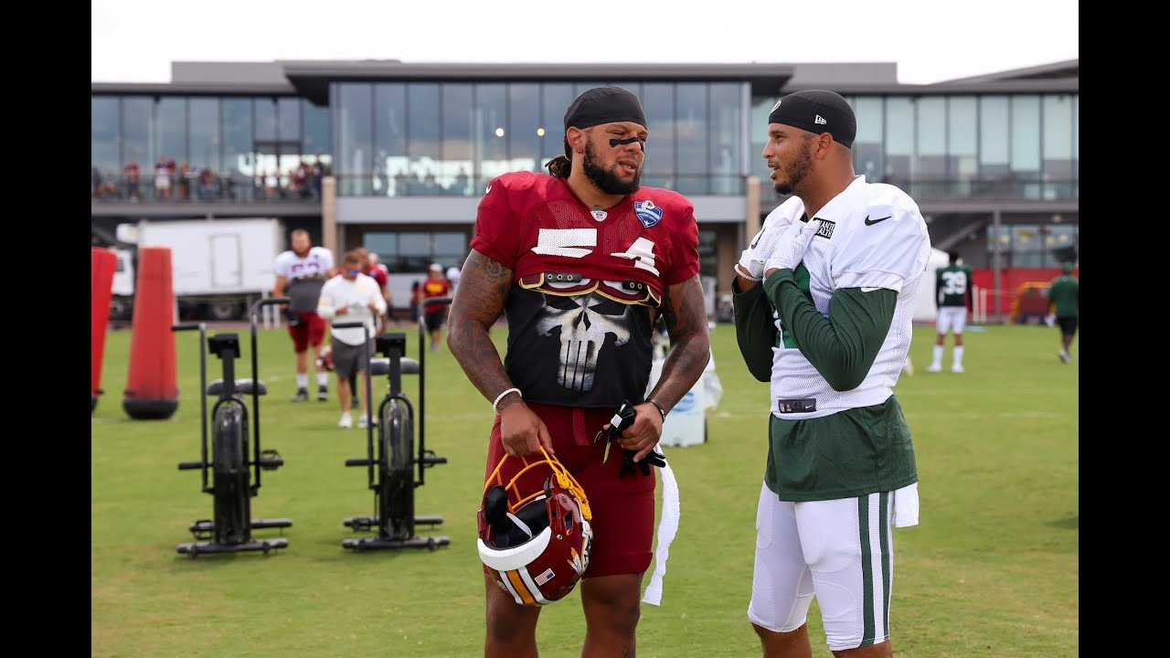 Were the Jets' joint practices with the Washington Redskins a success?