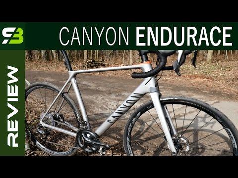 Canyon Endurace CF SL Disc 9.0. Endurance Or Race Bike? SickBiker Review.