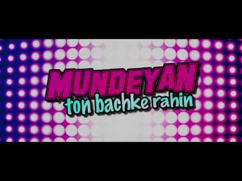 Mundeyan Ton Bachke Rahin | Trailer | Film Releasing 30th May 2014 | Roshan, Simran & Jassi video