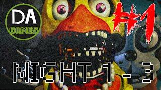 FIVE NIGHTS AT FREDDY'S 2 (NIGHT 1 - 3) PART ONE: ALWAYS A GLITCH! - DAGames