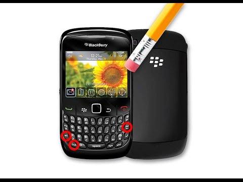 Formatear/Flashear cualquier Blackberry. En este caso un Curve 9300 Telcel